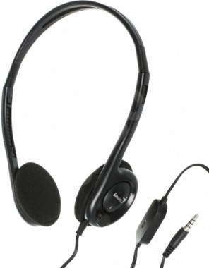 AURICULAR GENIUS HS-M200C BLACK SINGLE JACK