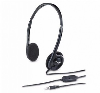 AURICULAR GENIUS HS-M200C BLACK SINGLE JACK - comprar online