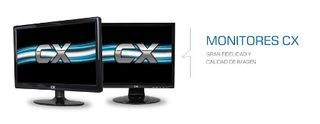 MONITOR 22 LED CX 215 HDMI (IMPORTADO)