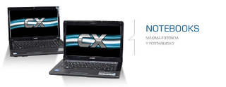 NOTEBOOK CX21622 KROMO BLACK C-60+500G+4G+DVDRW