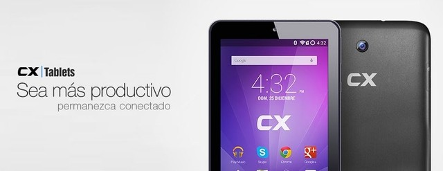TABLET 7 CX9004 INTEL Z2520 IPS 1GB/8GB ANDROID 4.2.2