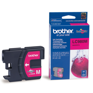CARTUCHO BROTHER LC980 MAGENTA