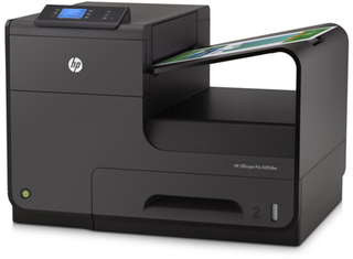 Imagen de MULTIFUNCION HP X451DW OFFICEJET PRO X 55PPM WIFI RED