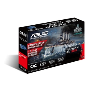 PLACA VGA 2GB R7 360 ASUS OC 2GD5 V2 en internet