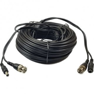 CABLE ARMADO CCTV 720P 18MTS VIDEO+ALIM. GRALF