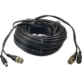 CABLE ARMADO CCTV 720P 30MTS VIDEO+ALIM. GRALF