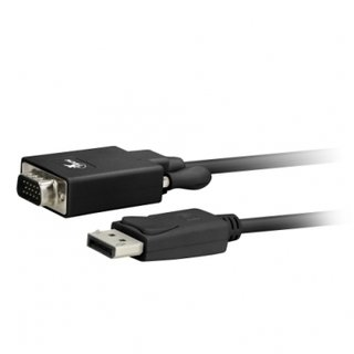 CABLE XTECH DISPLAYPORT MACHO-VGA MACHO 1.8MTS 32AWG en internet