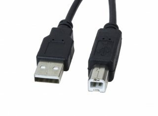CABLE USB 2.0 - IMPRESORA 4.5 MTS DIAM 3.8MM 480MB XTECH en internet