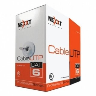 CABLE UTP 4 PARES CAT 6 GRIS NEXXT