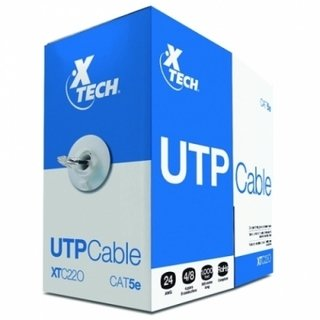 CABLE UTP | CAT 5E | 1000 PIES 350 METROS XTECH en internet