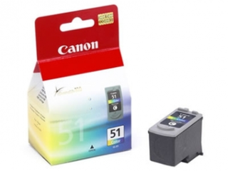 CANON CL-51 COLOR (IP2200/6210/ MP180/460) 21ML - comprar online