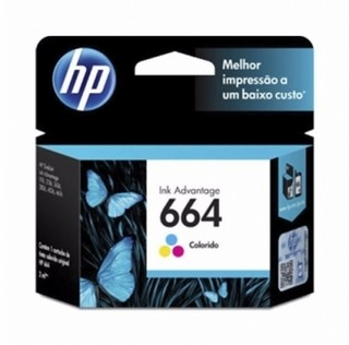 CARTUCHO HP 664 COLOR F6V28AL P/HP 3135 I en internet