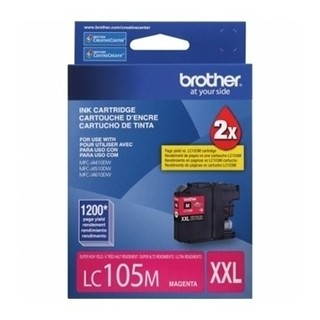 CARTUCHO BROTHER LC105 C P/MFC-6720DW 1200 PAG MAGENTA(I) - comprar online