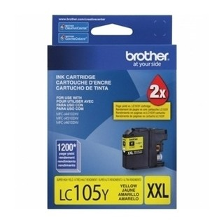 CARTUCHO BROTHER LC105 C P/MFC-6720DW 1200 PAG AMARILLO(I)