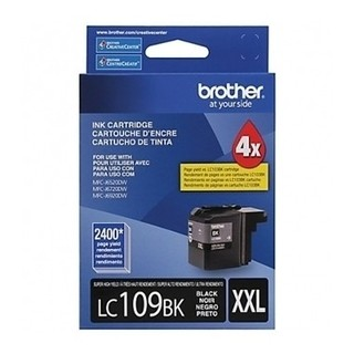 CARTUCHO BROTHER LC109 BK P/MFC-6720DW 2400 PAG NEGRO (I) - comprar online
