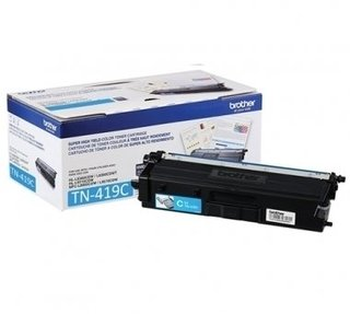 TONER BROTHER TN419 HL8360/MFC8900 9000 PAG CYAN - comprar online