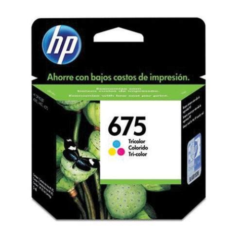 CARTUCHO HP 675 COLOR CN691AL