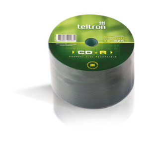 CD VIRGEN TELTRON 52X ULTRA GREEN BULK 50 UNIDADES en internet