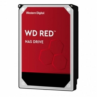 DISCO DURO INTERNO 6TB SATA 6GB/S 3.5   RED 64MB WD
