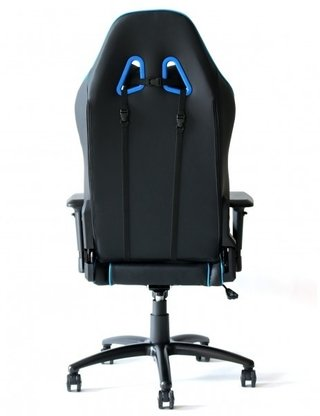SILLA GAMER E-WIN CHAMPION SERIES 4D NEG/CEL/BLAN en internet