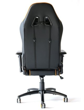 SILLA GAMER E-WIN CHAMPION SERIES 4D NEGRO/NARANJA en internet