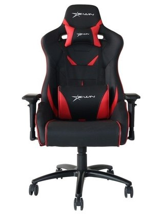 SILLA GAMER E-WIN CHAMPION SERIES 4D NEGRO/ROJO