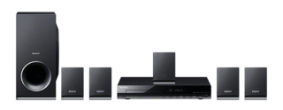 HOME THEATER SONY DVD CD 5.1 USBx2 300W - comprar online