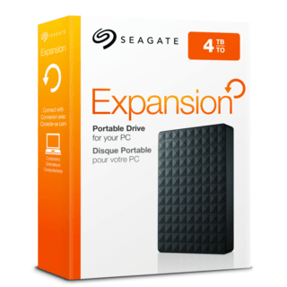 DISCO DURO PORTATIL 4TB EXPANSION PORTABLE SEAGATE - comprar online