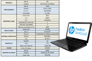 NOTEBOOK HP 15.6 450 G3 i7-6500U 1T 4GB W10 PRO - comprar online