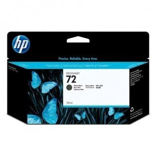 CARTUCHO DE TINTA 72 PLOTTER NEGRO MATE 130ML. HP - Uno Informática Ecommerce