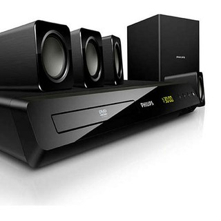 HOME THEATER PHILIPS 5.1 300W RMS HDMI DVD USB