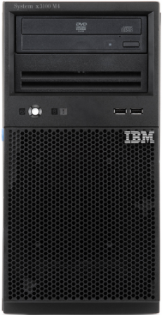 SERVER IBM X3100M4 E3-1220 8GB + DISCO 2TB - comprar online