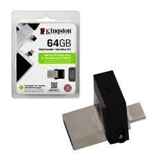 PENDRIVE 3.0 DT MICRODUO 64GB NEGRO KINGSTON
