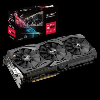 PLACA RADEON ROG STRIX RX 590 8G GAMING ASUS