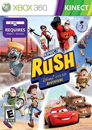 Juego Xbox 360 Microsoft Kinect Rush