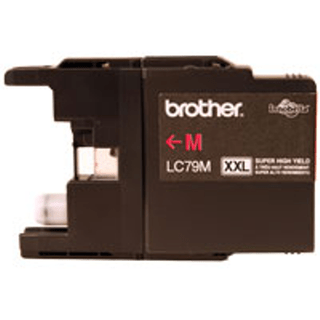 CARTUCHO BROTHER LC79 M P/MFC-6710DW 1200 PAG MAGENTA (I)