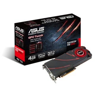 PLACA VGA 4GB R9 290 ASUS DC2OC 4GD5
