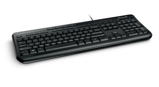 TECLADO MICROSOFT WIRED 600 - comprar online