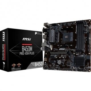 MOTHERBOARD (AM4) B450M PRO VDH PLUS MSI
