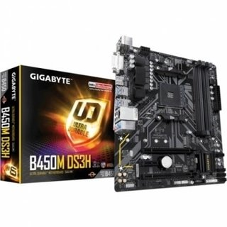 MOTHERBOARD GIGABYTE AM4 B450M DS3H BOX M-ATX