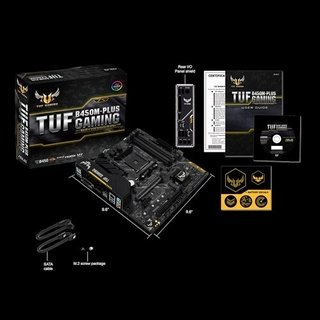 MOTHERBOARD (AM4) TUF B450M-PLUS GAMING BOX M-ATX - comprar online