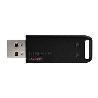 PENDRIVE DT20/32GB 2.0 NEGRO KINGSTON - comprar online