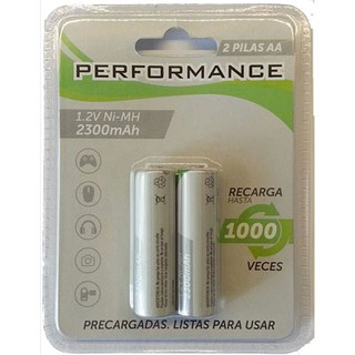PILA AA X2 PERFORMANCE RECARGABLE NI-MH 2300MAH en internet