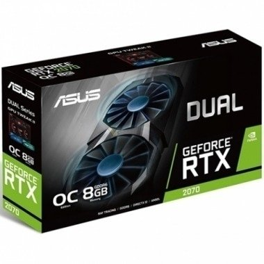 PLACA GEFORCE DUAL RTX 2080TI O11G ASUS