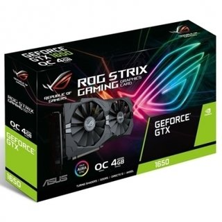 PLACA GEFORCE ROG STRIX GTX 1650 O4G GAMING ASUS