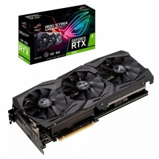 PLACA GEFORCE ROG STRIX RTX 2060 O6G GAMING ASUS
