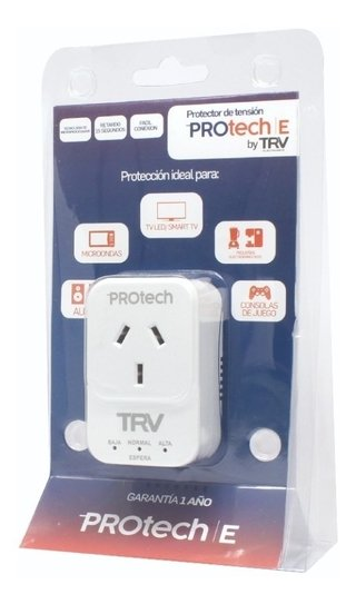 PROTECTOR DE TENSION TRV PROTECH E -AUDIO-TV-