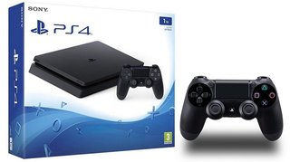 PLAYSTATION SONY PS4 SLIM 1TB BLACK - comprar online