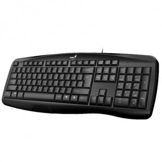 TECLADO GENIUS KB-118 USB BLACK