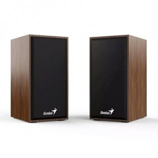 PARLANTES GENIUS SP-HF 180 USB 4W POWER WOOD